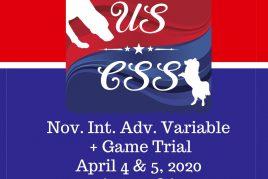 April 4 & 5, 2020 Aptos CA