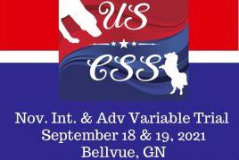 September 18 & 19, 2021 - Bellvue, GN