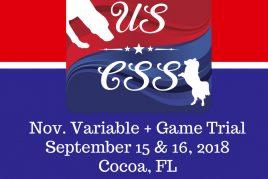 Sept. 15 & 16, 2018 Cocoa, FL
