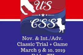 Mar. 9 & 10, 2019 Eddy, TX